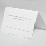 Minimalist Wreath wedding venue place card stationery