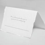 Modern Monogram table place card