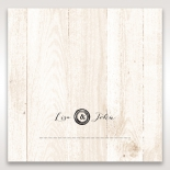 Rustic Woodlands place card stationery