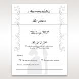Bridal Romance wedding reception enclosure card
