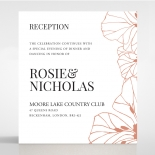 Grand Flora wedding stationery reception invitation card design