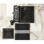 Lux Royal Lace with Foil - Wedding Invitations - PWI116142-F-GK - 178760