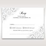 An Elegant Beginning rsvp wedding enclosure design