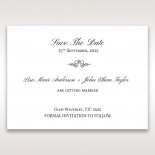A Modern Love Story save the date card
