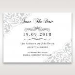 An Elegant Beginning wedding stationery save the date card item