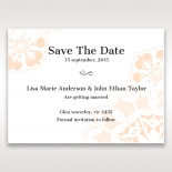 Antique Frame save the date wedding card
