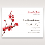Captivating Cherry Blossoms save the date stationery card design