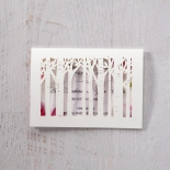 Enchanting Forest 3D Pocket save the date card