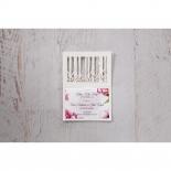 Enchanting Forest 3D Pocket save the date card design