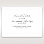 Marital Harmony save the date card design