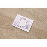 Modern Laser Cut save the date wedding stationery card item