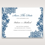 Noble Elegance save the date wedding stationery card item