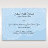 Rustic Lace Pocket save the date invitation card design