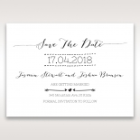 Simply Rustic wedding save the date stationery card item