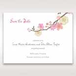 Splendid Spring wedding stationery save the date card item