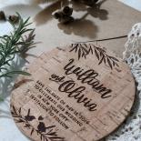 Springtime Love save the date invitation stationery card item