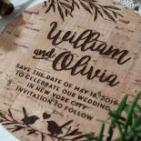Springtime Love save the date wedding stationery card item