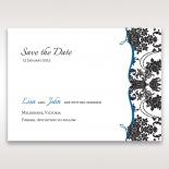 Vintage Glamour save the date invitation stationery card item