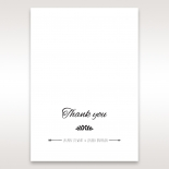 Country Lace Pocket thank you card design