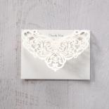 Elegance Encapsulated thank you wedding stationery card item