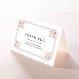 Gatsby Glamour thank you invitation card