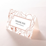 Grand Flora thank you stationery card design