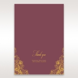 Imperial Glamour with Foil thank you wedding stationery card item