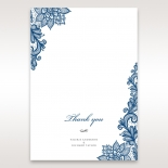 Noble Elegance wedding stationery thank you card