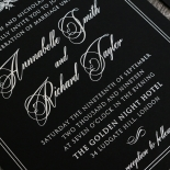 Ace of Spades Stunning invitation card