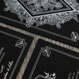 Ace of Spades Stationery card design