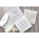 An Elegant Beginning Wedding Invite Card