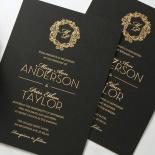 Aristocrat Invite Card Design