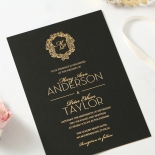 Aristocrat Wedding Invite