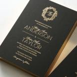 Aristocrat Wedding Invite Card Design