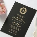Aristocrat Wedding Invite Design