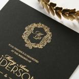 Aristocrat Wedding Card