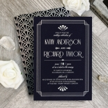 Art Deco Allure Stationery card