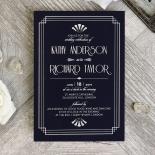 Art Deco Allure Invitation