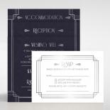 Art Deco Allure Invitation Card