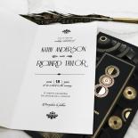 Art Deco Romance Stationery design