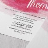 At Sunset Wedding Invite Card