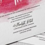 At Sunset Invitation Card Design