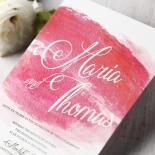 At Sunset Wedding Invitation Card