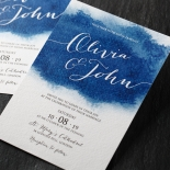 At Twilight Wedding Invite Card