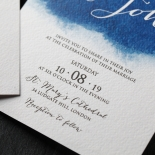 At Twilight Wedding Invite Design