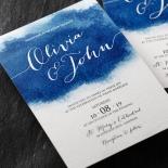 At Twilight Wedding Invitation Design