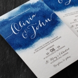 At Twilight Wedding Invitation Card Design