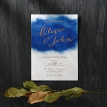 At Twilight with Foil Invite
