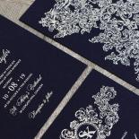 Baroque Romance Wedding Card Design