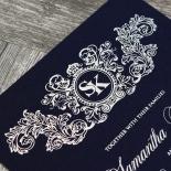 Baroque Romance Wedding Invite Design
